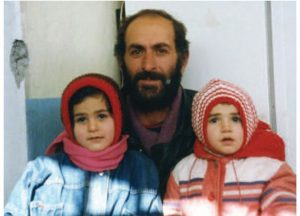 1994 | Russian Caucasus - Father and two daughters