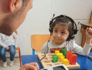 2017 | Jordan - Child having hearing test