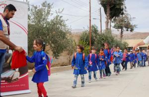 Distribution of Hygiene School kits