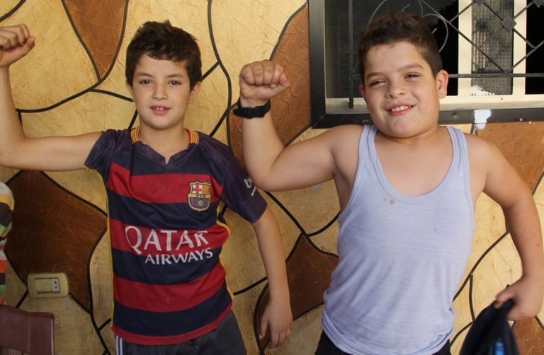Protection from Childhood Disease Lebanon