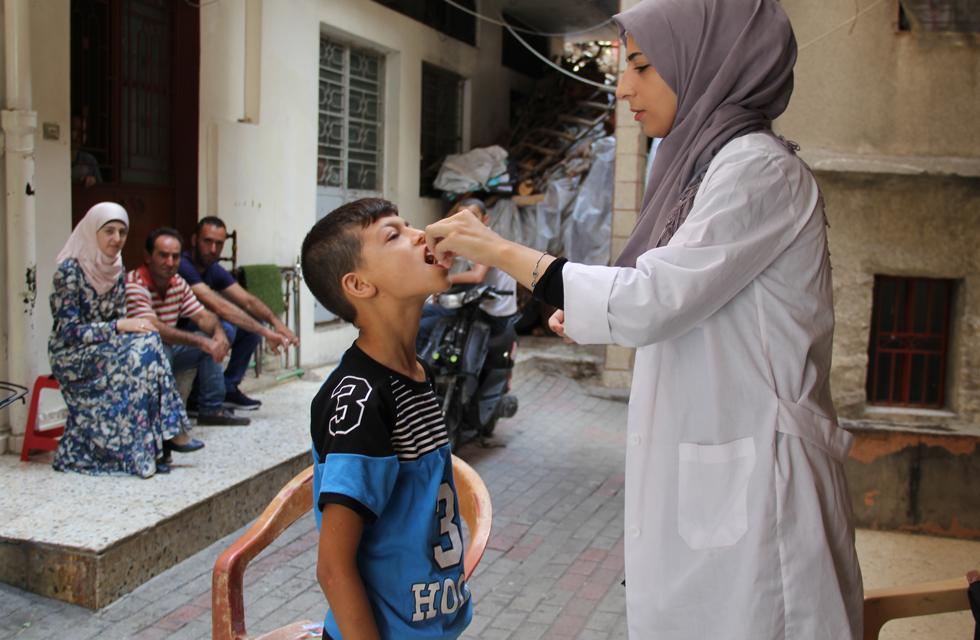 Accelerated immunization activities