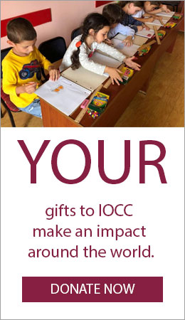 YOUR gifts to IOCC make an impact around the world