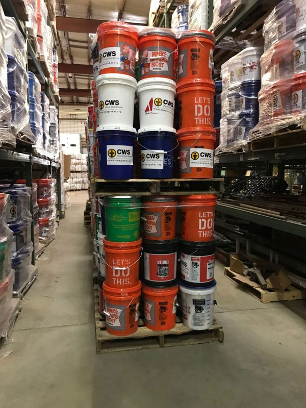 US Emergency Response Cleanup Buckets