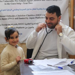 Health Screening Preschoolers Gaza