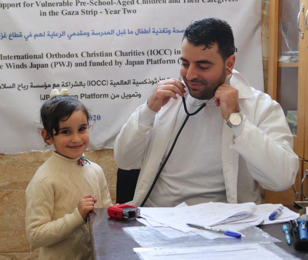 Health Screening Preschoolers Gaza